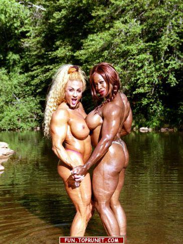 голые женщины бодибилдеры